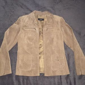Leather coat Alfani